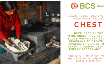 CHEST: Clean Household Energy Solutions Toolkit.