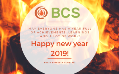 The Solid Biofuels Cluster wishes everyone a happy new year 2019