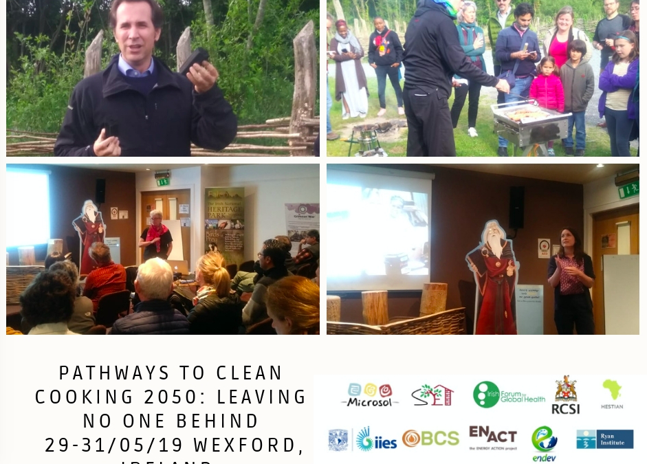 Conferencia: Pathways to Clean Cooking 2050.