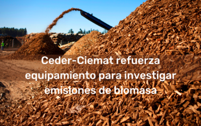 Ceder-Ciemat strengthens its equipment to investigate biomass emissions